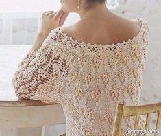 Post 10/31 Hoje trago uma blusa feita em crochê MA-RA-VI-LHO-SA. … Continue lendoBlusa em Crochê