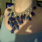 My peacock collar