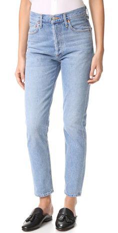 AGOLDE Jamie High Rise Classic Jeans | SHOPBOP