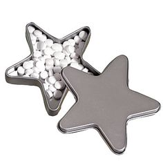 Silver Celestial Mint Tin, Star Mint Tin