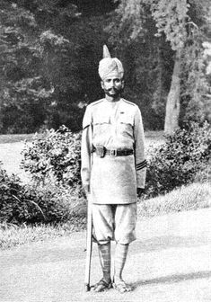 A non-commissioned officer of the Guides' Infantry 1905