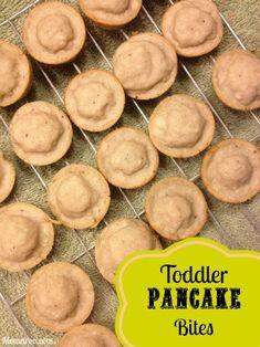 Toddler-Sized Pancake Bites