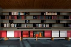 Ateliers Jean Prouve Bookcase, 1965 House of Honey Jean Prouve