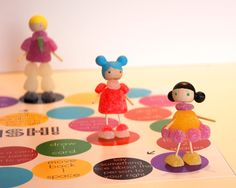 25 Most Clever & Creative Ways to Use Up Halloween Candy : Gumdrop Girls DIY Board Game with Printables