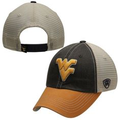 west virginia mountaineers top of the world offroad trucker adjustable hat navy blue - Wvu Diploma Frame