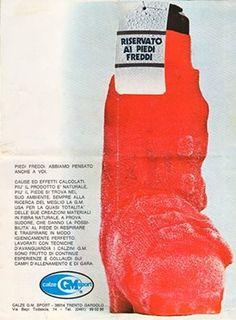 Oggi come allora, con #calzeGM i piedi freddi non sono più un problema!