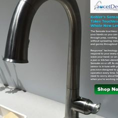 Kohler Touch Control Kitchen Faucet
