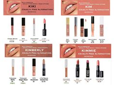 Dupes for KKWxKylie Collection
