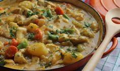 Quick chicken casserole