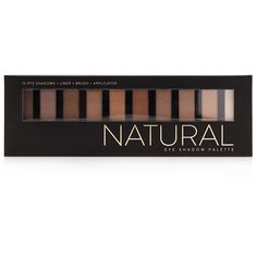 Forever 21 Natural Eyeshadow Palette ($8.90) ❤ liked on Polyvore featuring beauty products, makeup, eye makeup, eyeshadow, palette eyeshadow and forever 21