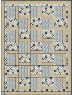 STEPPING UP QUILT PATTERN