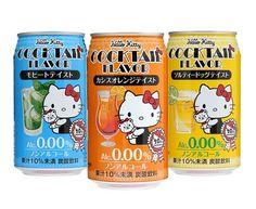 Hello Kitty Cocktail Flavor Beverage