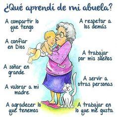 Mi abuela...