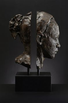 Lionel Smit - Mind the Gap, Bronze 60cm