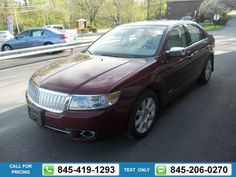 2007 LINCOLN MKZ BASE 75k miles $9,691 75279 miles 845-419-1293 Transmission: Automatic  #LINCOLN #MKZ #used #cars #JimmysAutoOutlet #Fishkill #NY #tapcars