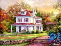 Stone Terrace Farmhouse (88 pieces)
