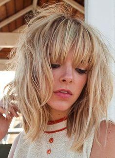 Lori McCaw Hair: Soft Fringe
