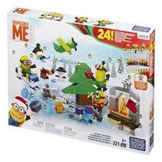 New-Mega-Bloks-Minions-Movie-Advent-Calendar-Toy-Game-Kids-Play-Gift-Christma
