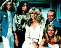 Tiffany, Kelly, Jill, Bosley and Kris (Sabrina is gone now)