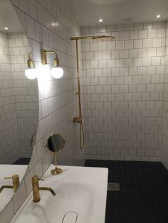 Nya badrummet. Mässing från Tapwell