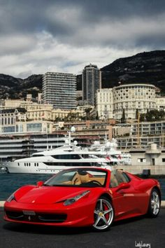 Ferrari + Yacht - ♔LadyLuxury♔