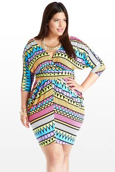 Point and Shoot Aztec Print Dress, yes..I am getting this dress =)