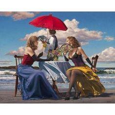 Posterazzi Cafe Oceanus Canvas Art - Paul Kelley (24 x 30)