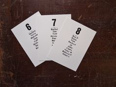 Place Setting cards for bespoke table plan peg board.