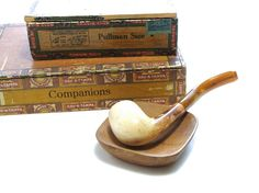 Vintage Meerschaum Pipe Smoking Accessory Tobacco Pipe