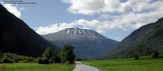 Goustatoppen, one of the highest mountains in Norway.