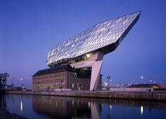 Hélène Binet captures Zaha Hadid Architect's newly opened Port House in Antwerp