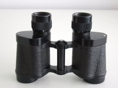 You don't want to miss a thing! Binoculars allow you to get a glimpse of shy animals.