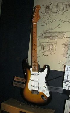 3ee474a920e 1954 Fender Stratocaster The Fender Stratocaster is perhaps the most  popular…: Fender Electric Guitar