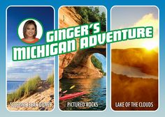 "Good Morning America"" meteorologist Ginger Zee is taking a trip back to her home state of Michigan and it's up to you to pick which spectacular spot she visits.  Vote by 12 p.m. ET on Thursday, May 28th for either Pictured Rocks National Lakeshore, Lake of the Clouds or Sleeping Bear Dunes National Lakeshore. https://gma.yahoo.com/vote-for-ginger-zee-michigan-adventure-destination-210957870.html"