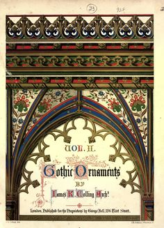 V. Scans from Colling's Gothic OrnamentsFrom the Image Archive   Todd van Hulzen Design