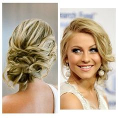 Whether you are preparing to go to a wedding, an updo is a simple, quick and easy way to get a glamorous hairstyle without going to a lot of trouble.