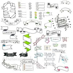 "1,103 Likes, 11 Comments - Apsi's visual notes & doodles (@therevisionguide) on Instagram: ""Here's a recap of all the banners.. I know I may have missed a few.. but most of them are there..…"""