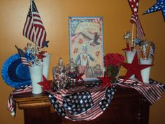 Fourth of July Mantle 2014!