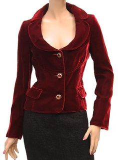Click Image Above To Purchase: D Womens Jacket Coat Red
