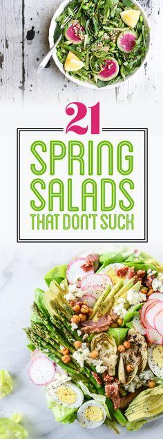 21 Spring Salads That Don't Suck