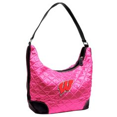 Wisconsin Badgers Quilted Hobo