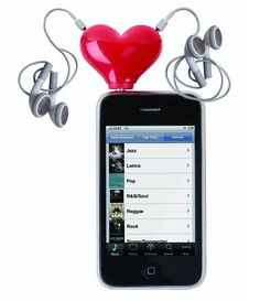 #Tunes For Two Heart #Headphone Splitter for your #smartphone! What do you think?