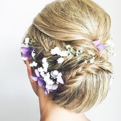 #bride #weeding #hairstyle #hairdresser #haveaniceday #fishtail #flowers #makeupartist #hairlove #haj_dublog