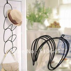 Aliexpress.com : Buy Black Exquisite Compact Chain Rack for Hat Scarf Bag Coat freeshipping 54644 from Reliable Compact Chain Rack suppliers on Chinatownmart (HongKong) Limited