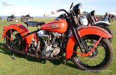 1937 Harley Davidson Knucklehead.... Wow!