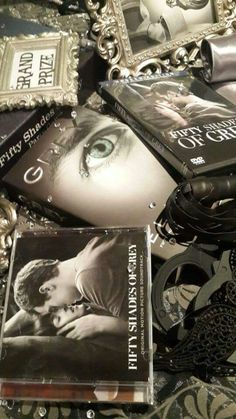 More decor and prizes for this 50 shades themed party