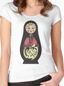Russian doll Women's Fitted Scoop T-Shirt