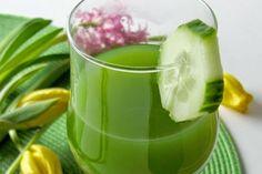 Batido de pepino y limón para perder peso