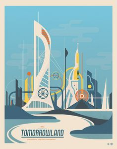 Tomorrowland - Poster Posse