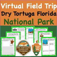 Virtual Field Trip to Dry Tortugas Florida National Park Science Writing, Writing Activities, Science Activities, Learning Resources, Florida National Parks, Shape Poems, Teaching Schools, Elementary Schools, Teaching Ideas